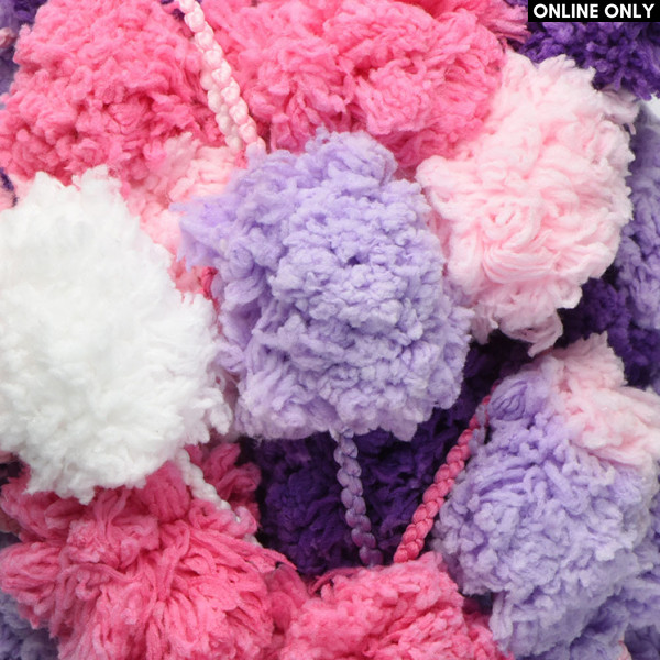 Red Heart® Pomp-a-Doodle™ Yarn - Cotton Candy