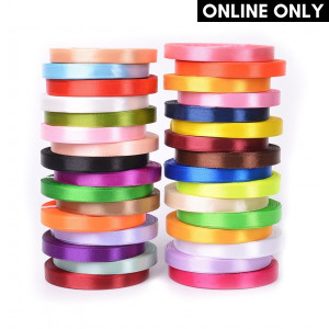 Handmayk Single Face Satin Ribbon Color Pack