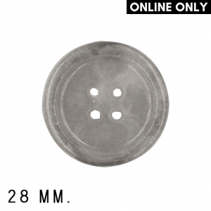 Roya Crafts Handmade Resin Frosted Night Buttons, 28 mm., Pack of 4