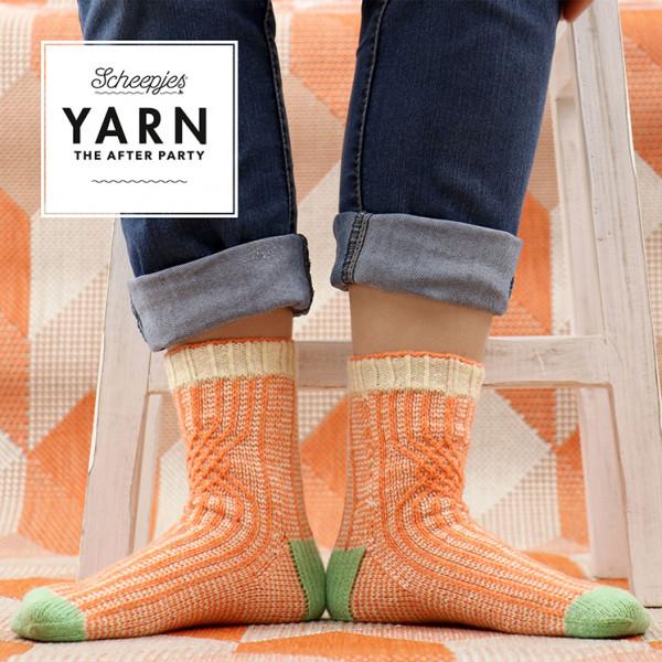 Scheepjes Metropolis Pattern - Twisted Socks
