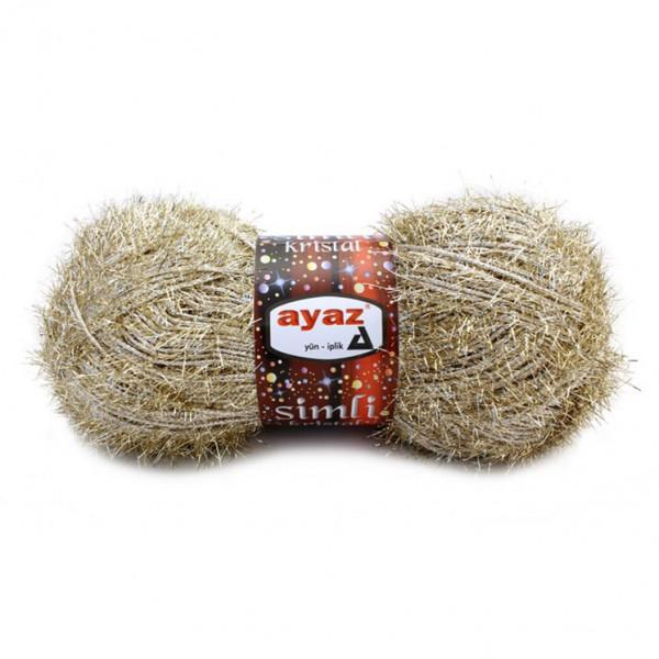 Ayaz Simli Kristal Yarn (102)