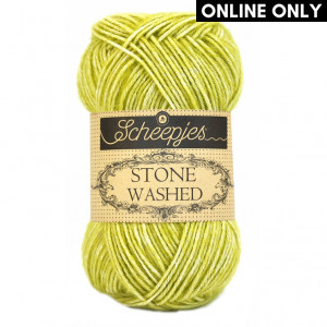 Scheepjes® Stone Washed Yarn - Lemon Quartz (812)