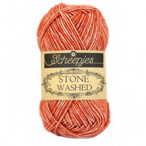 Scheepjes Stone Washed Yarn - Coral (816)