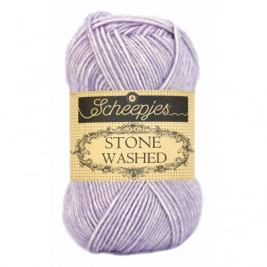 Scheepjes® Stone Washed Yarn - Lilac Quartz (818)