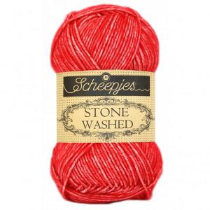 Scheepjes Stone Washed Yarn - Carnelian (823)