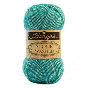 Scheepjes Stone Washed Yarn - Turquoise (824)