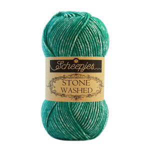 Scheepjes® Stone Washed Yarn - Malachite (825)