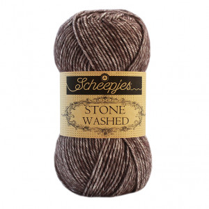 Scheepjes Stone Washed Yarn - Obsidian (829)