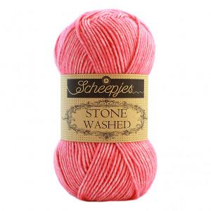 Scheepjes Stone Washed Yarn - Rhodochrosite (835)
