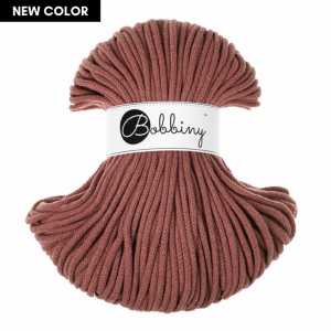 Bobbiny Premium Macramé Cord Yarn, Sunset, 5 mm.