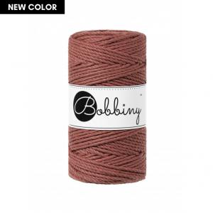 Bobbiny Premium Macramé Rope, Sunset, 3 mm.