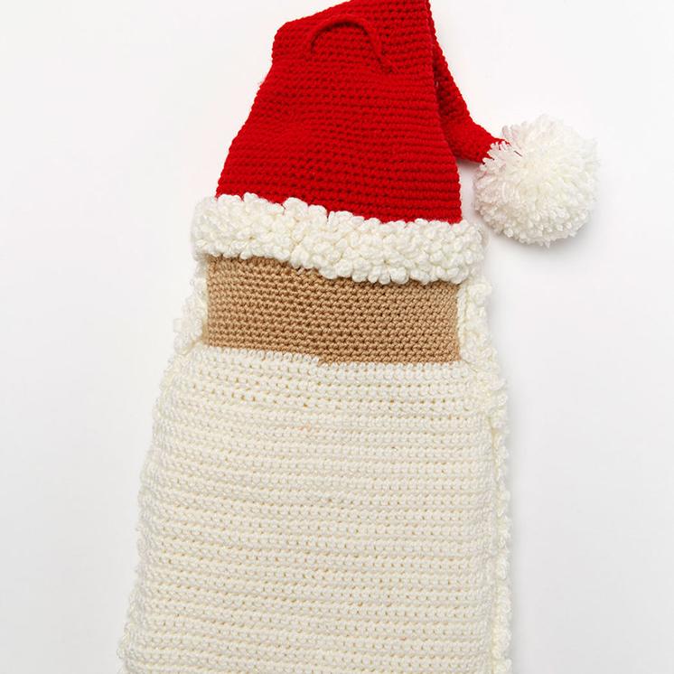 Santa Advent Calendar Pattern in Red Heart® Super Saver® at Yarns ...