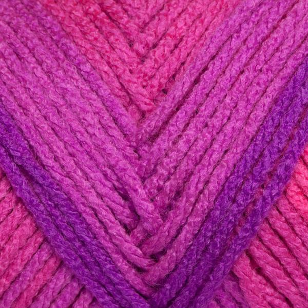 Red Heart® Super Saver Stripes® Yarn - Flamenco Stripe