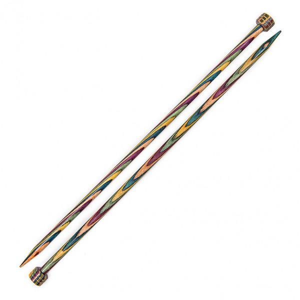 KnitPro 25 cm. Symfonie Single Point Knitting Needles - 6 mm.