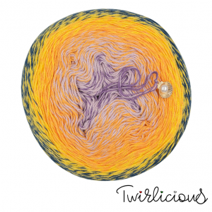 Handmayk Twirlicious Yarn - Tangoberry Halo-halo (2022)