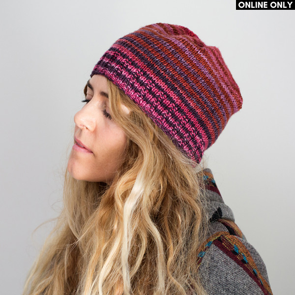 Box Pleated Hat Pattern in Urth Uneek Worsted