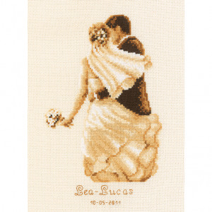 Vervaco Counted Cross Stitch Kit - Newlyweds