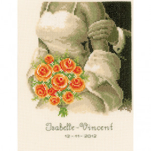 Vervaco Counted Cross Stitch Kit - Wedding Bouquet