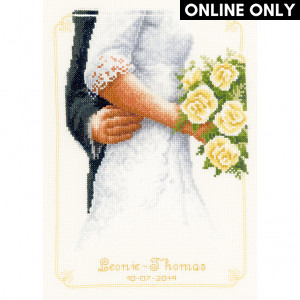 Vervaco® Counted Cross Stitch Kit - Bridal Bouquet with Roses