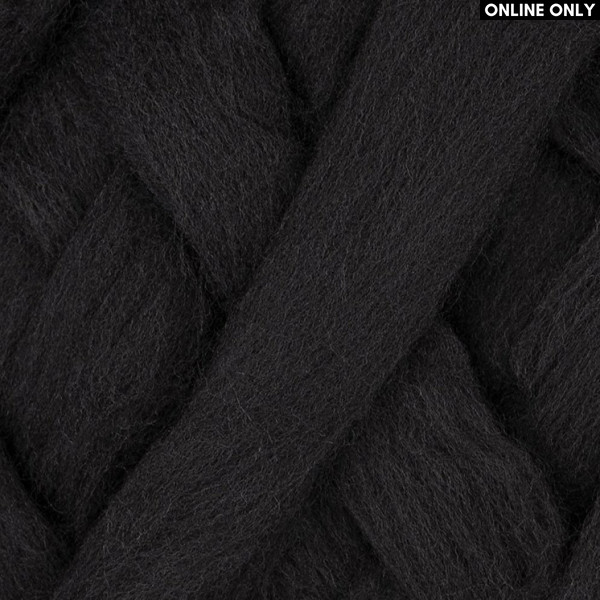 Bergere de France® Waouh Wool Yarn - Noir (10118)