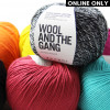 Wool and the Gang® Shiny Happy Cotton Yarn - Ivory White