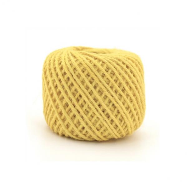 wone Jute Yarn - Yellow